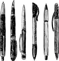 pens doodle