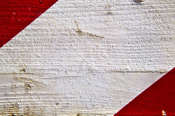 arsizio abstract wood italy  lombardy   and white red stripe