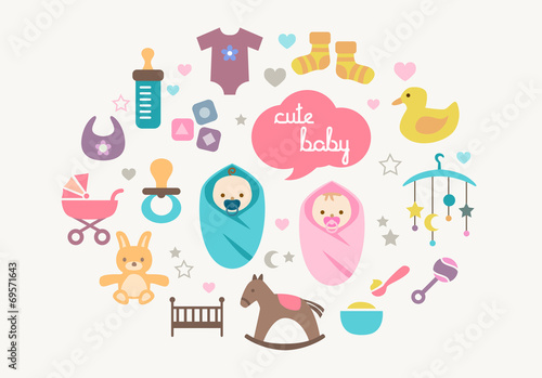 Greetings Card - Babies and Toys - 69571643