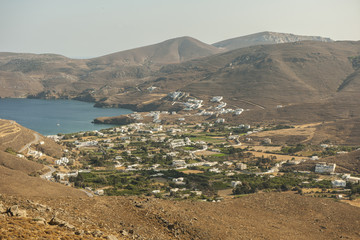 Dorf Livadia auf der Insel Astypalea, Dodekanes