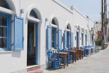 Restaurant in Chira auf der Insel Astypalea, Dodekanes