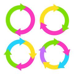 Cycle rings diagram