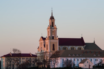 The Saint Mary's Church. Grodno, Belarus