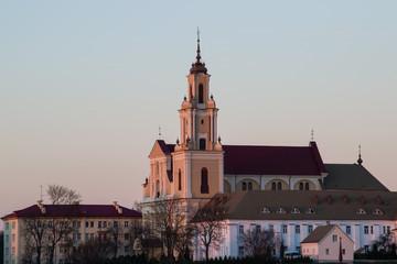 The Saint Mary's Church. Grodno, Belarus