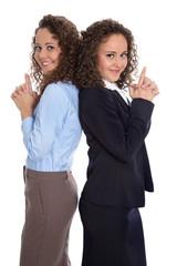 Frauenquote: zwei Frauen im Team machen Karriere