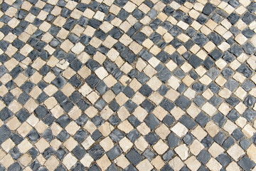 Old checkered floor