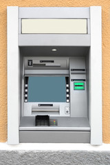 Automatic Teller Machine in the wall