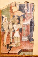Affresco medievale