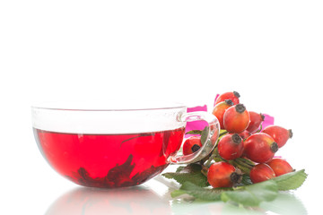 tea with rosehip
