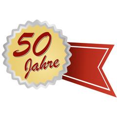 Jubilee button german - Jubiläum 50 Jahre