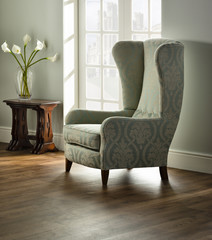 chair in interior of Traditional Livingroom / lounge