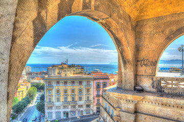 arches in Cagliari