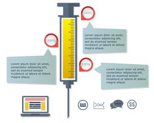 Syringe Infographic