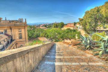 stairway in Cagliari