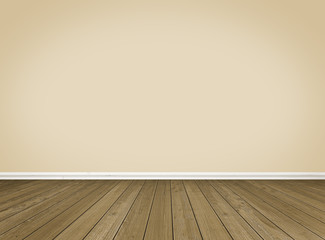 Empty Room / Wooden Floor