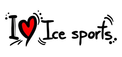 Ice sport love