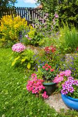 garden, romance, idyll, spring