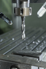 industrial cnc mill automated metal processing machine