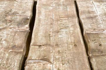 Holz Bretter Holztisch braun