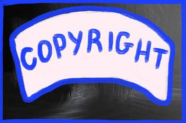 copyright concept