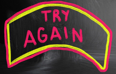 try again concept
