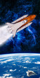 Hawaii Islands Shuttle Rocket