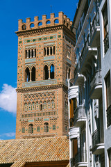 View of the Tower of Teruel Cathedral