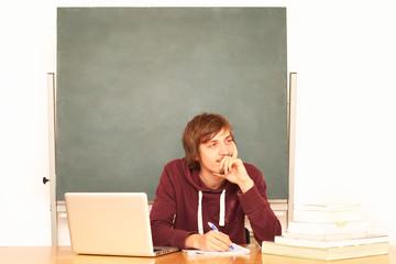 Schüler im Klassenzimmer