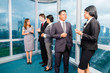 Asian Businesspeople meeting in office