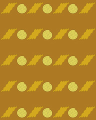 Geometrical abstract background. Table cloth and paper design
