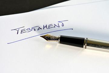 Testament, Letzter Wille, Erbschaft, Tod, Nachlass, Füller