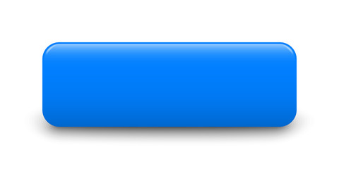 Blue Blank Button Template