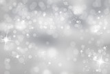 Photo: Winter light background with sparkle