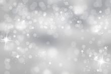 "Постер, картина, фотообои ""Winter light background with sparkle"""