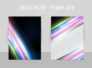 Flyer template design