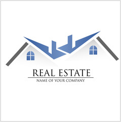 Immobilien Logo, Haus