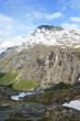canvas print picture - Berglandschaft Norwegen