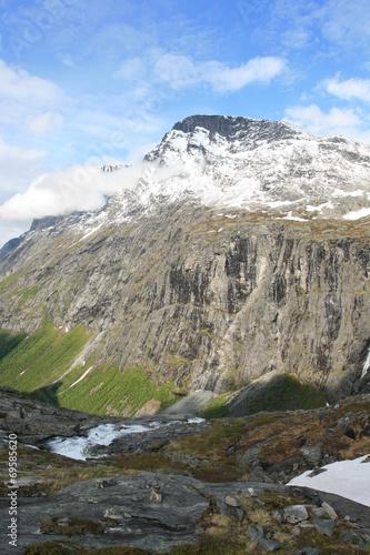 canvas print picture Berglandschaft Norwegen