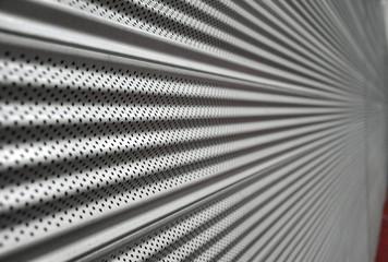 Pattern at roller shutter door