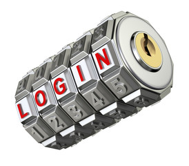 Code mechanism with LOGIN
