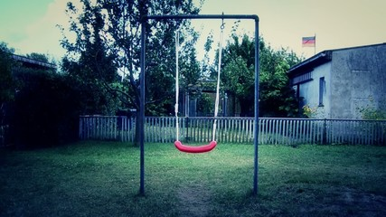 Schaukel Einsamkeit Spielplatz Kind Kinder