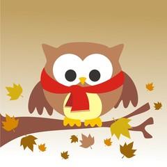 buho otoño