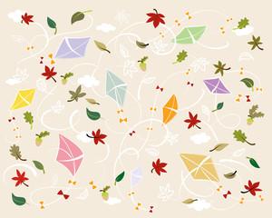 Illustration Herbstfreude, soft