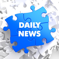 Daily News on Blue Puzzle.