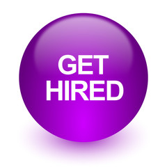 get hired internet icon