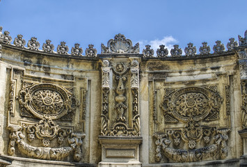 Dolmabahce Palace Wall@Istanbul