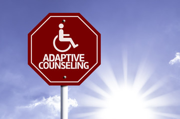 Adaptive Counseling with Disabled Icon sign
