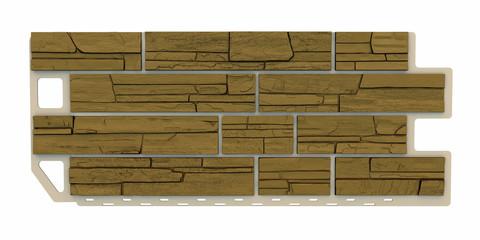 light brown Stone facade panel