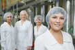 pharmaceutical factory workers
