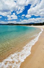 Mediterranean sardinia sea beach